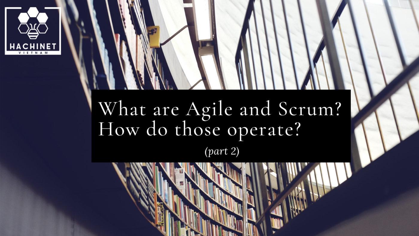 Agile And Scrum 2