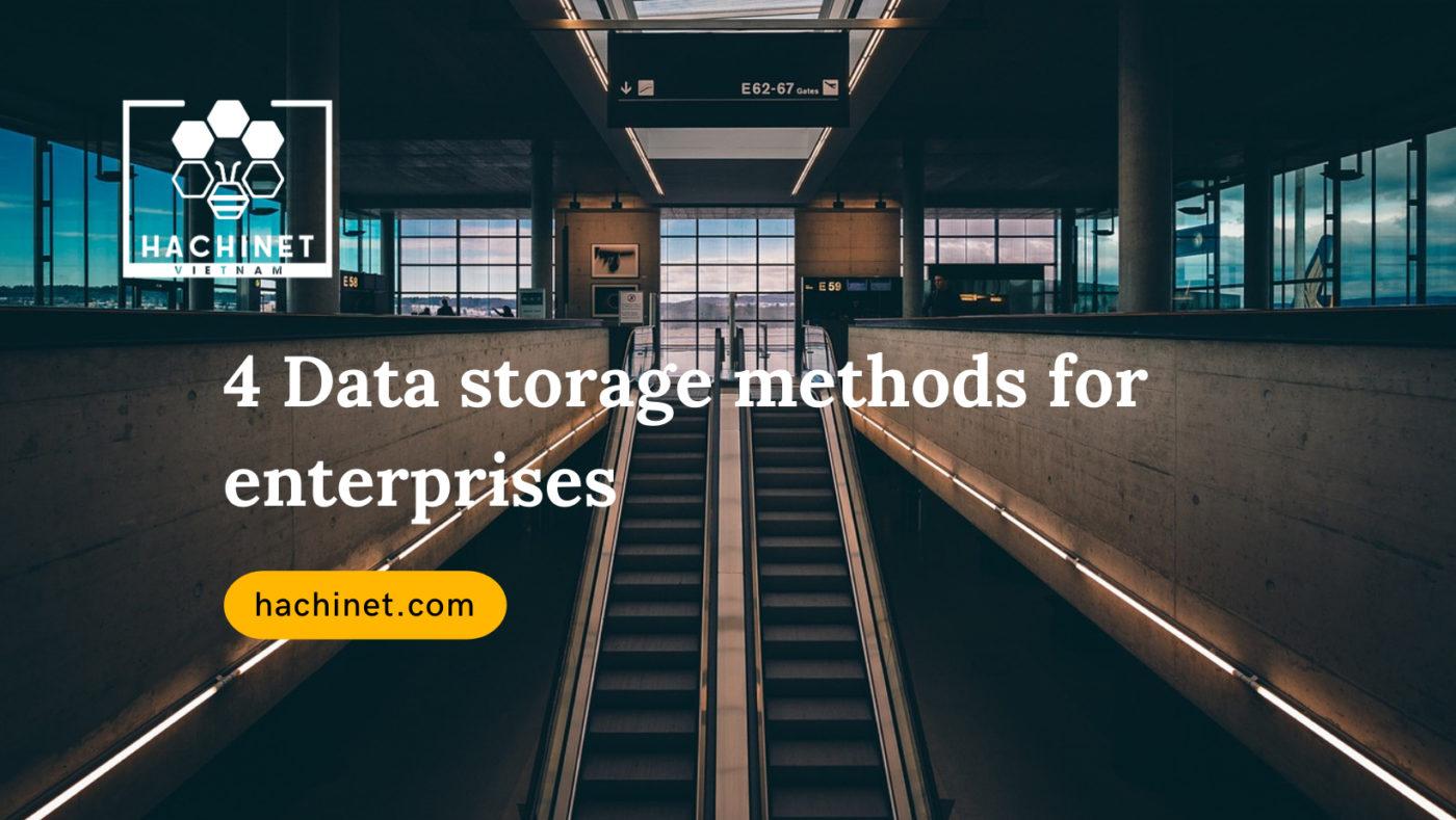 Data Storage Methods